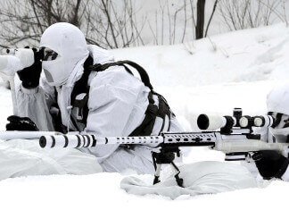 keskin nişancı, sniper tüfeği, kamuflaj